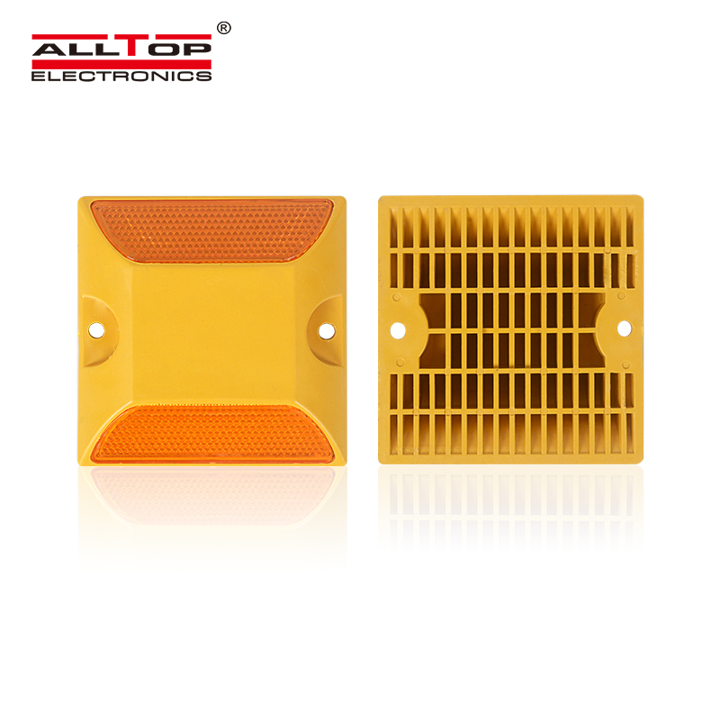 ALLTOP High-brightness Reflective LED Flash Road Marking Solar Stud