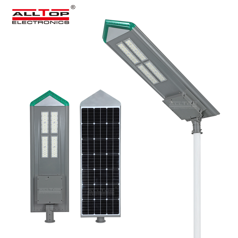 ALLTOP Energy Saving SMD Waterproof Ip65 Outdoor 180w All in One Led Solar Street Light Price